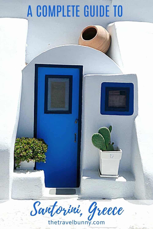 Complete guide to Santorini