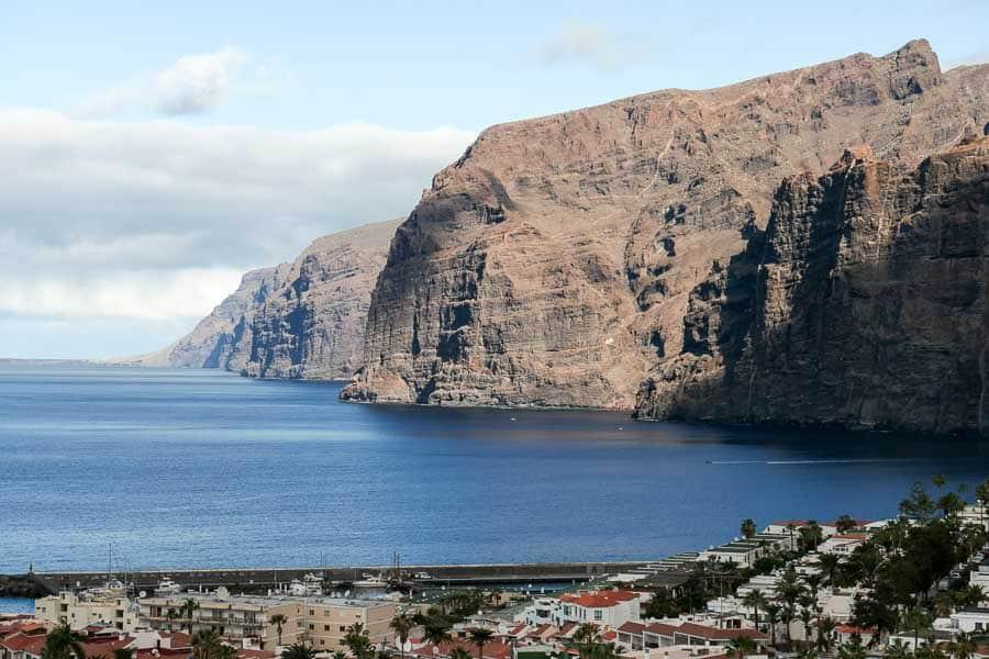 Los Gigantos cliffs, Tenerife