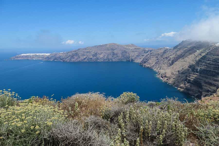 Santorini Fira to Oia hike