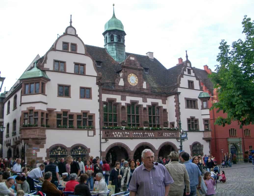 Freiburg-town-hall