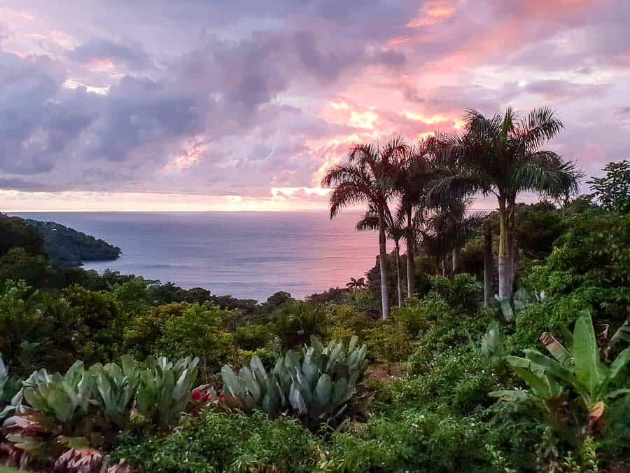 Manuel Antonio Sunset, Costa Rica