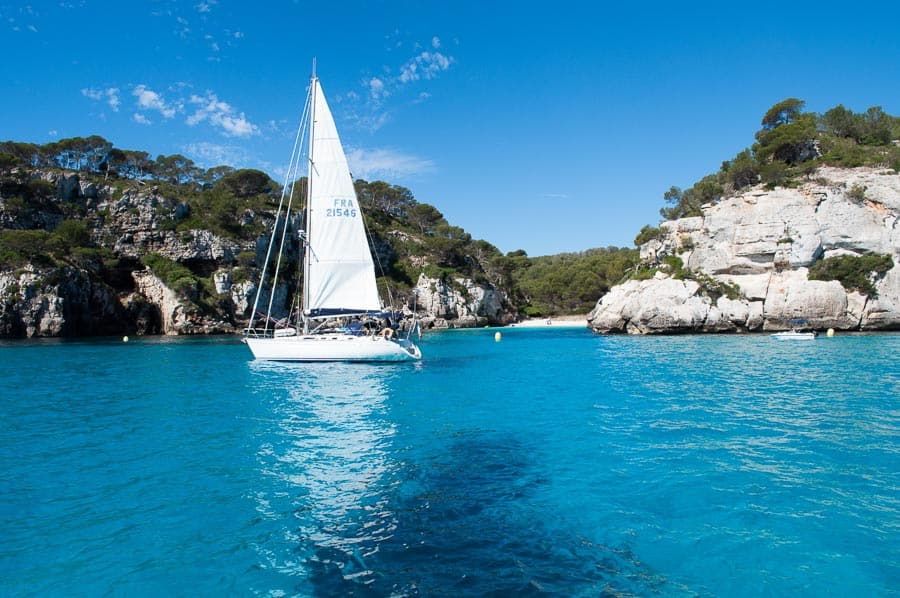 yacht sailing holiday in the Mediterranean