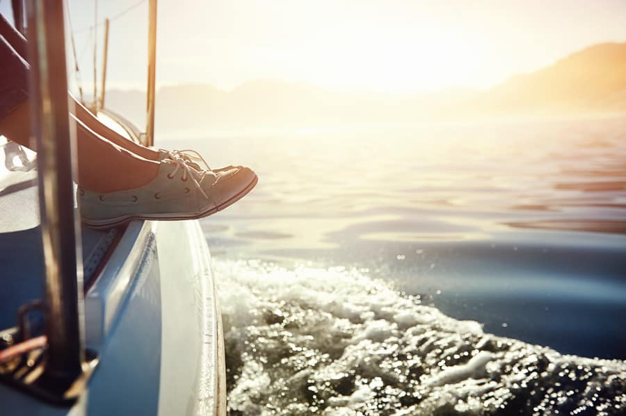 sailing shoes - what to wear sailing