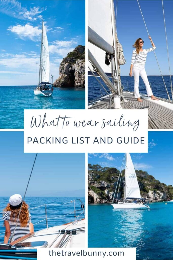 What to wear for sailing holiday