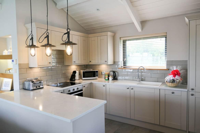 Kitchen, Dylan Lodge, Dylan Coastal Resort, Laugharne