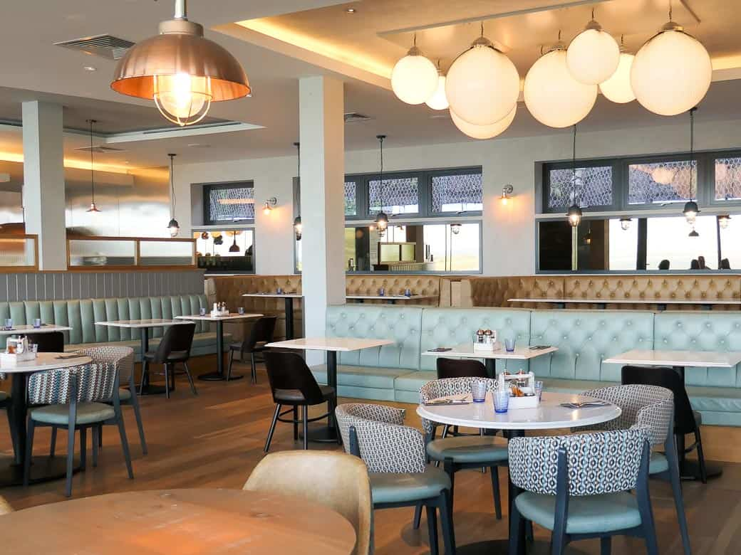 Dining area at Milk Wood Bar and Kitchen