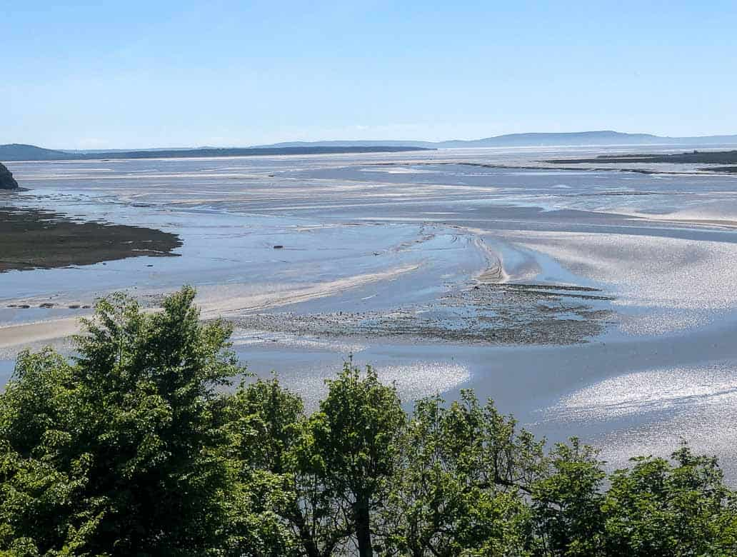 The Taf Estuary from Laugharne
