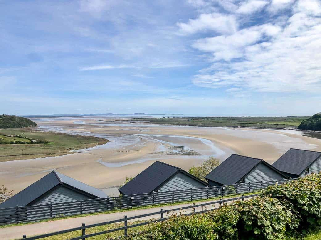 The Taf Estuary from Dylan Coastal Resort