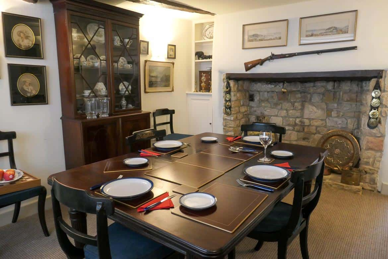 Dining Room, Eastbury Cottage, Sherborne