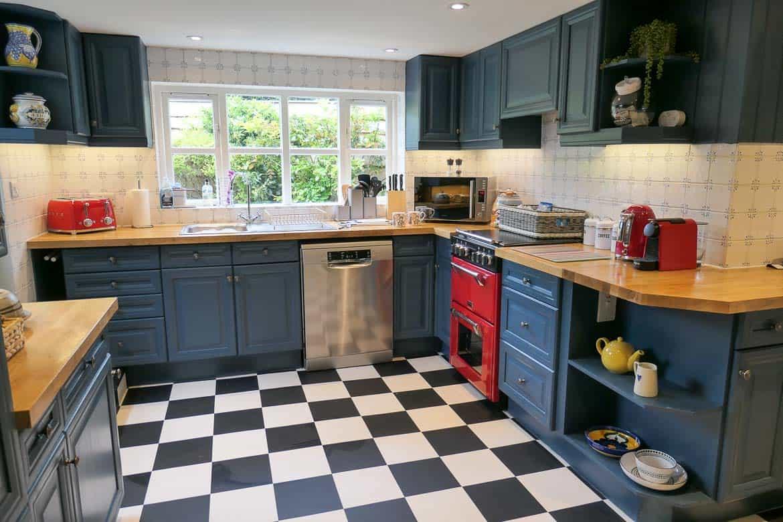 Kitchen, Eastbury Cottage, Sherborne