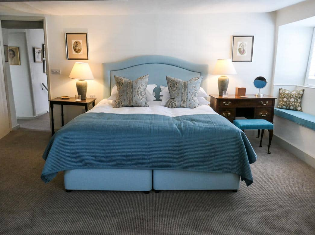 Main bedroom, Eastbury Cottage, Sherborne