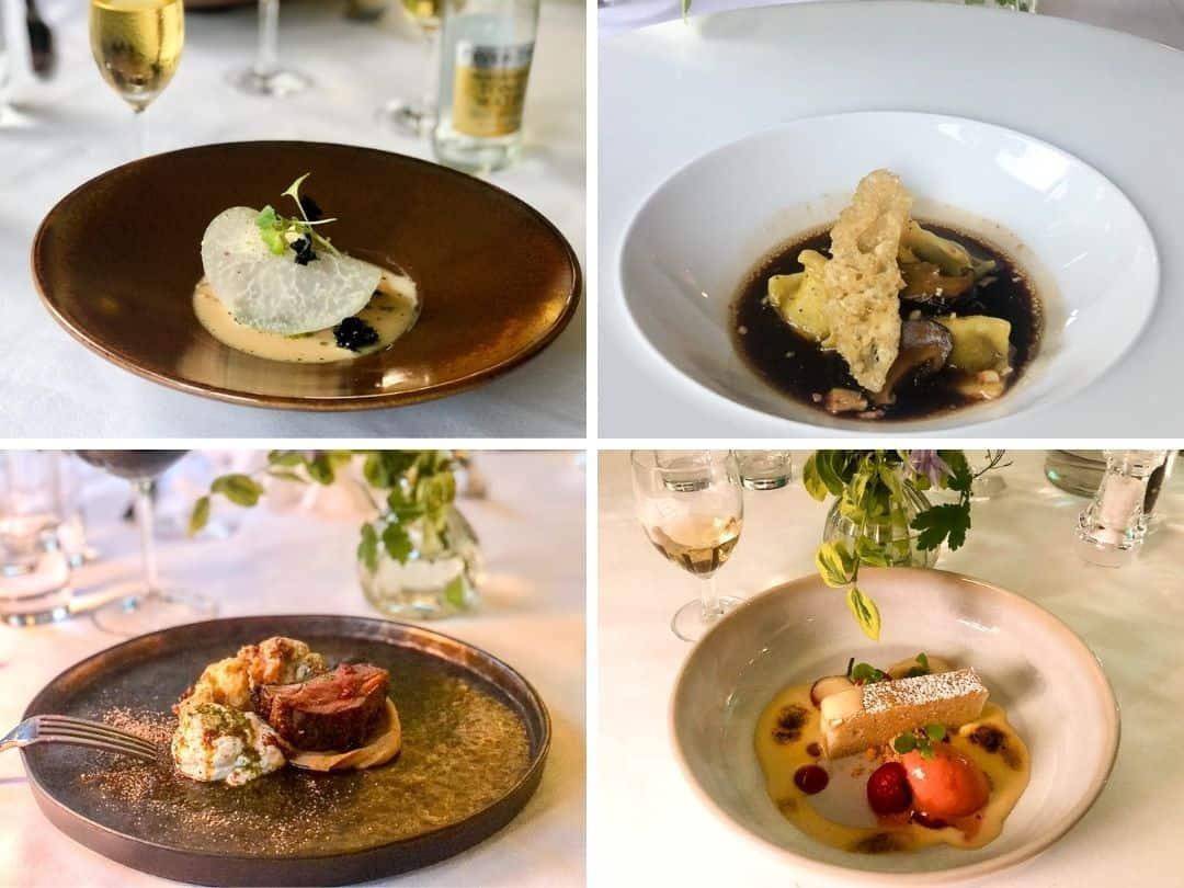 Seasons Restaurant Tasting Menu, Eastbury Hotel