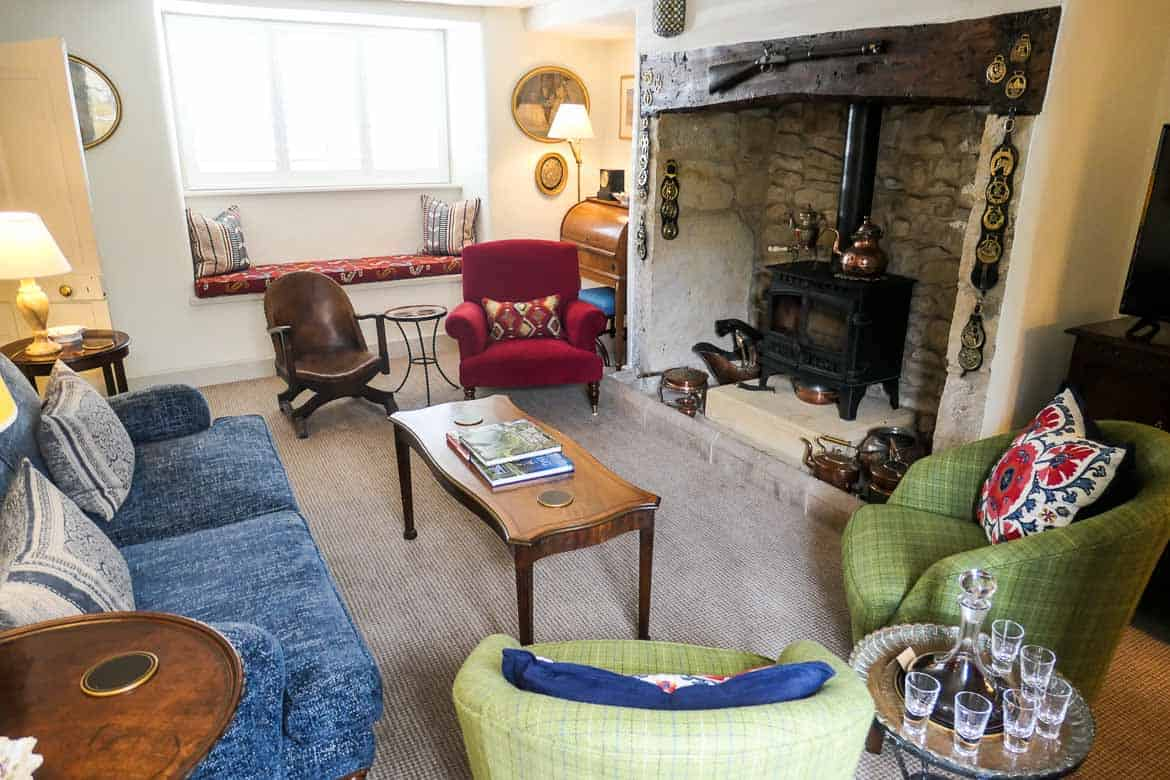 The Lounge, Eastbury Cottage in Sherborne