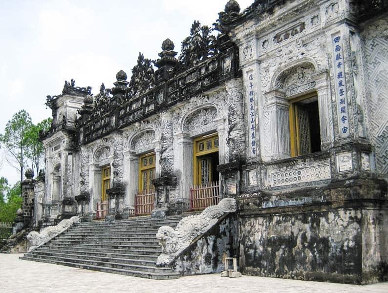 Khai Dinh's Tomb, Hue, Vietnam