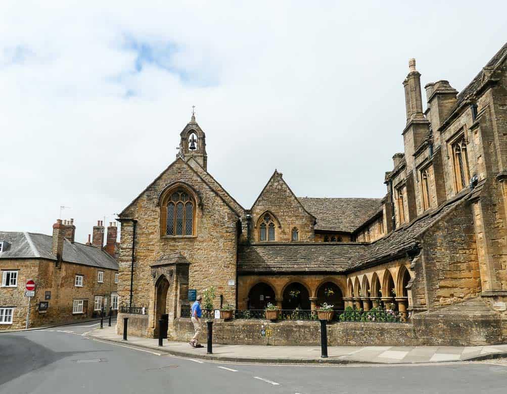 The Alms Houses in Sherborne, Dorset